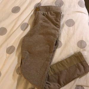 Kids tan comfy pants